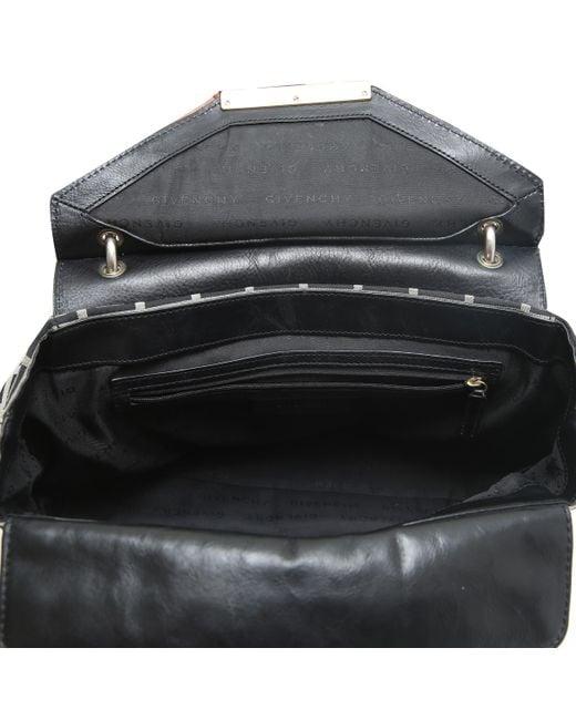 e1a9368ae8cc ... Givenchy - Black Bicolor Monogram Canvas leather Top Handle Bag - Lyst  ...