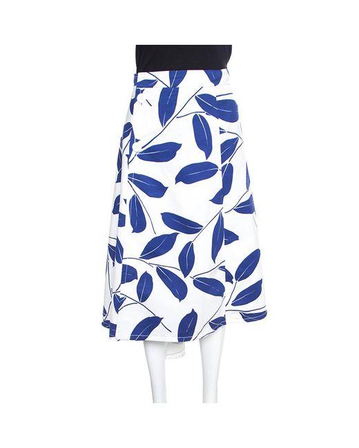 Marni White Cotton Skirt
