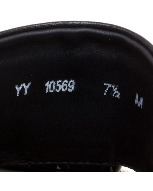 1c72dbdc95b8 ... Ferragamo - Black Ostrich Leather Lutfi Platform Slides for Men - Lyst  ...