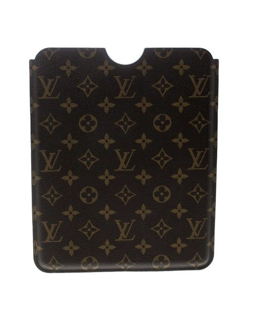 Louis Vuitton Brown Monogram Canvas Ipad Case