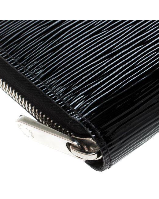 ... Louis Vuitton - Black Electric Epi Leather Zippy Wallet - Lyst ... 740bf4047cc