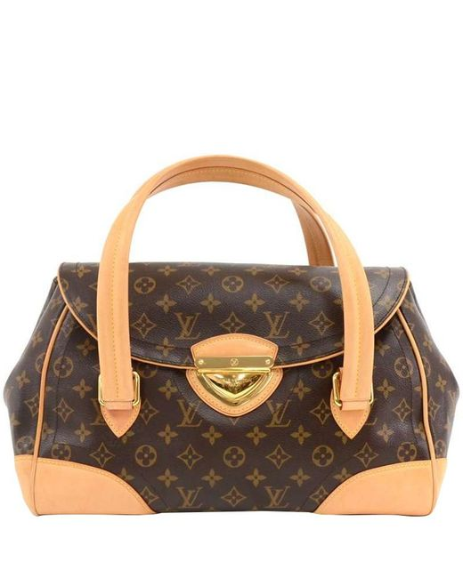 Louis Vuitton Brown Monogram Canvas Beverly Gm Bag