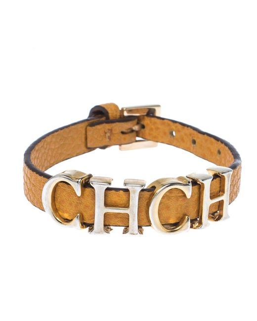 CH by Carolina Herrera Metallic Happy Diamond 18k White Gold Teddy Bear Pendant