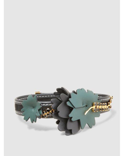 Marni   Multicolor Embellished Flower Choker   Lyst