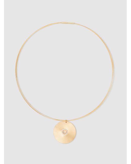 Ileana Makri | Metallic Sun Gold-plated Opal And Sapphire Choker | Lyst