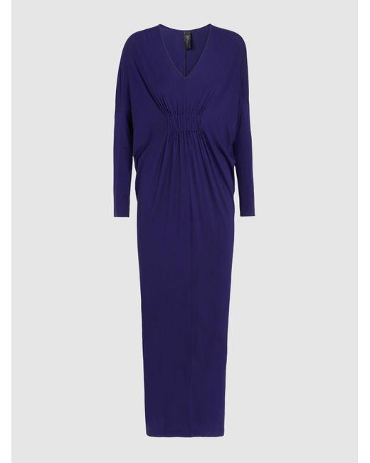 Lena Printed Stretch-Silk Dress Zero + Maria Cornejo I8rKPEL