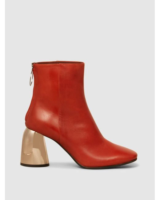 Ellery - Sacred Classic Leather Ankle Boots - Lyst