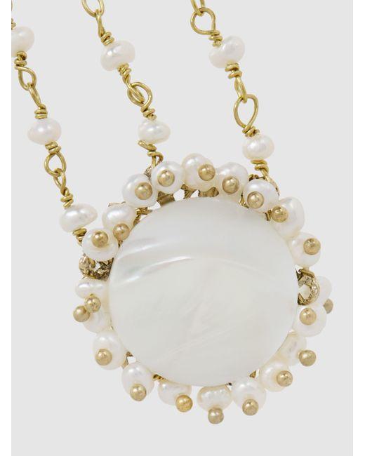Corte Freshwater Pearl Gold-Tone Earrings Rosantica hHnjeH2vx