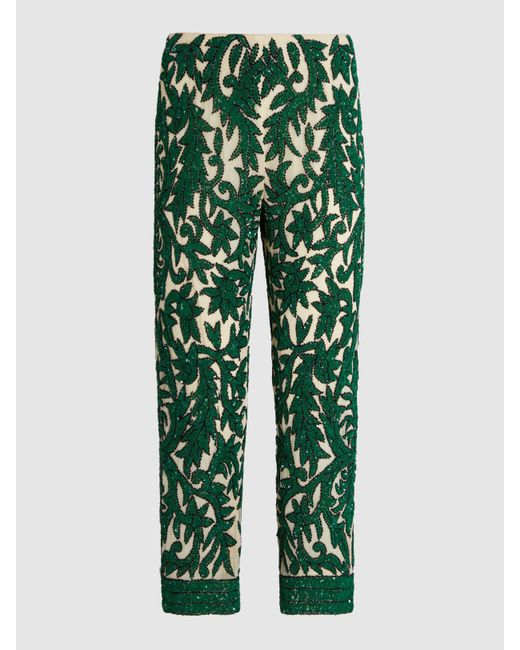 Wide Range Of Sale Online Ivy Sequinned Crepe Cropped Trousers Huishan Zhang Choice Cheap Price ouhJjZDDw