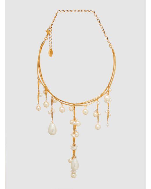Erickson Beamon   Metallic Pretty Woman Pearl Necklace   Lyst