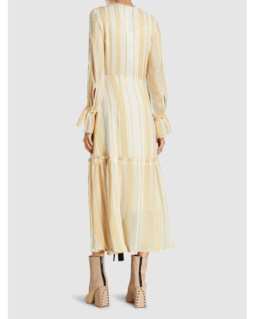 Nausica Silk-Blend Dress Zeus + Dione Bi8lJkb