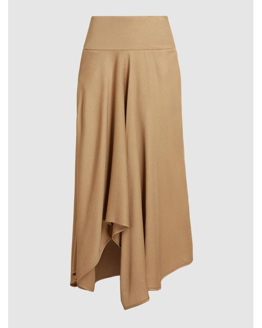 Zero + Maria Cornejo | Natural Eco Drape Wave Skirt | Lyst
