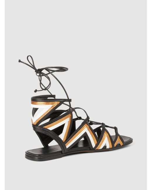 ALUMNAE Stitched Mignon Gladiator Sandals Clearance Release Dates Cheap Exclusive 2sBEsZEUa7