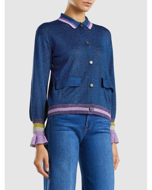 Christie Metallic Knit Cardigan Baum Und Pferdgarten Clearance Excellent Outlet Get To Buy Real Cheap Online Sale Prices Sale Release Dates sxEoK3
