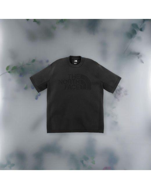 T-shirt In Maglia Tecnica di The North Face in Black da Uomo