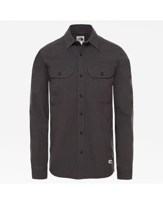 Camicia di The North Face in Gray da Uomo