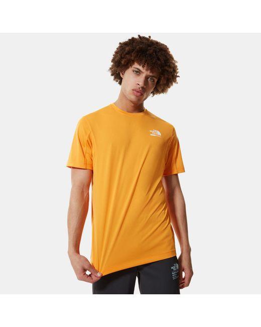 T-shirt di The North Face in Orange da Uomo