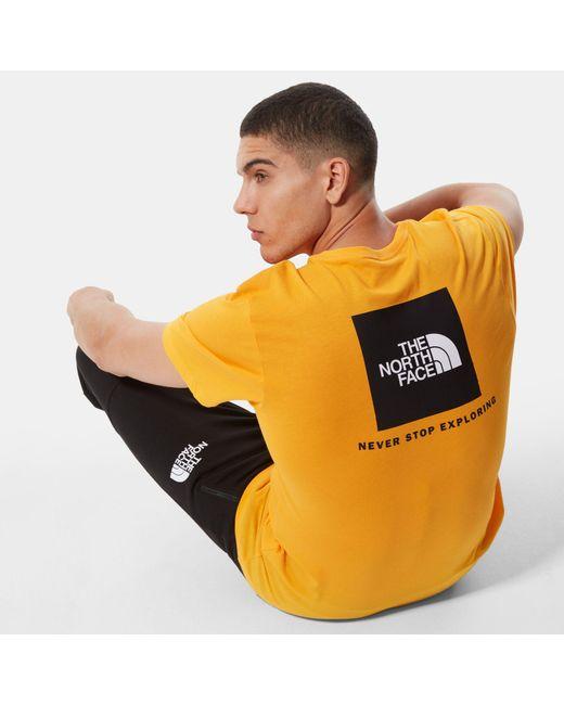 T-shirt di The North Face in Metallic da Uomo