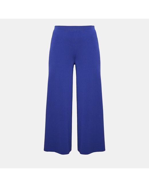 Theory - Blue Knit Classic Peplum - Lyst