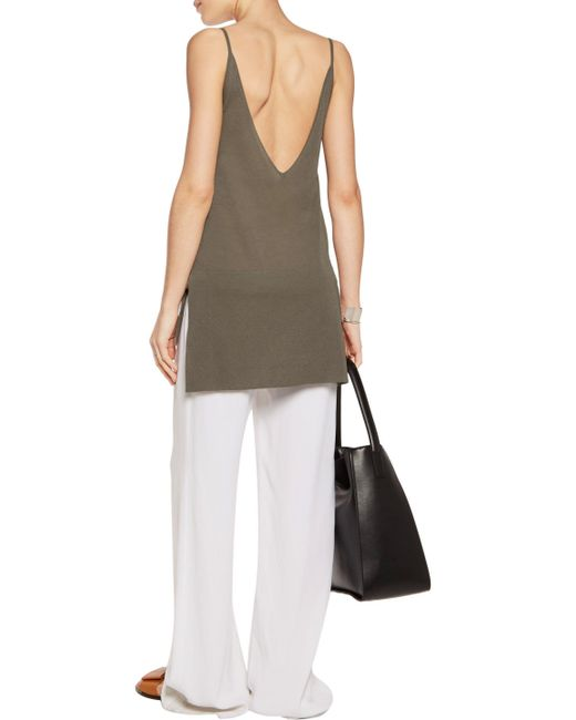 ... Soyer | Green Stretch-knit Camisole | Lyst ...