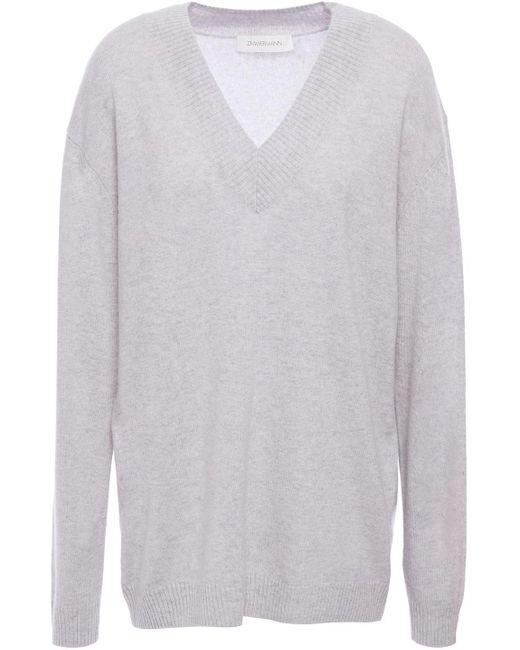 Zimmermann Cashmere Sweater Light Gray