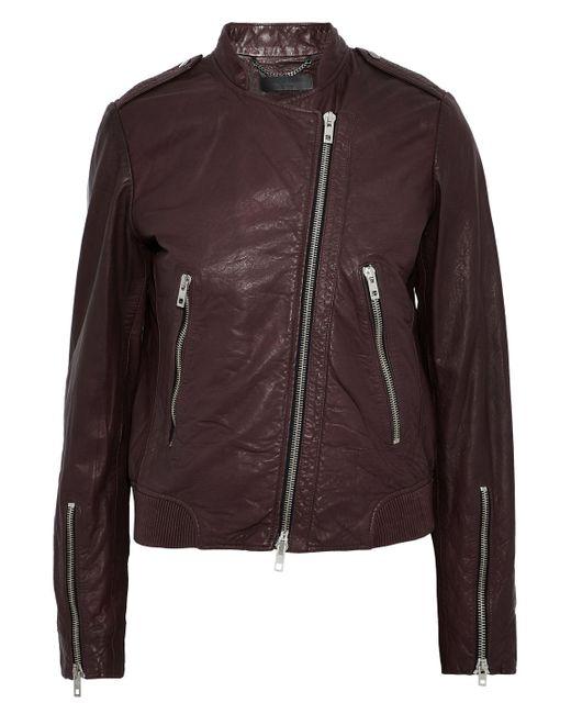 Rag & Bone - Multicolor Leather Biker Jacket - Lyst