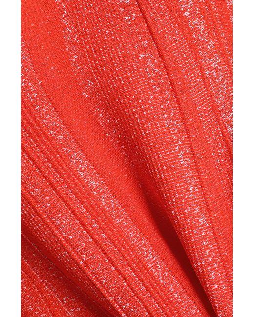 Proenza Schouler Peplum Hem Textured Knit Top