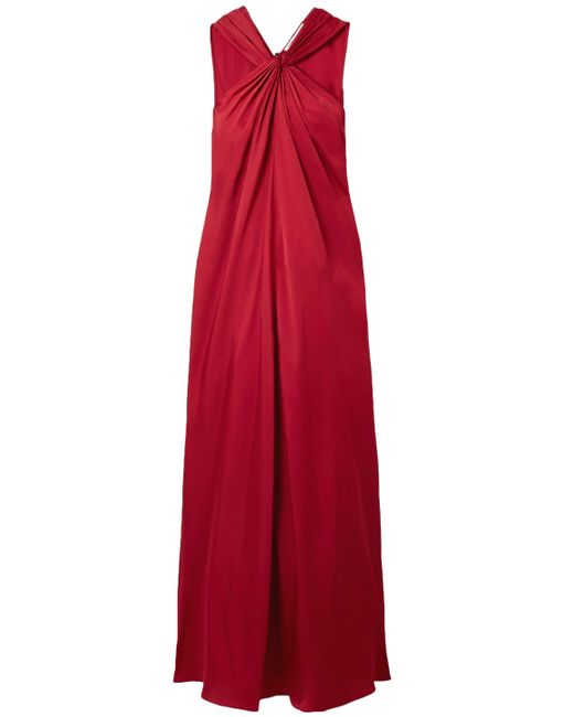 Elizabeth and James Red Long Dress