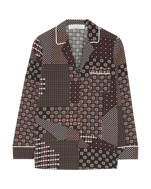 Thakoon   Multicolor Addition Printed Crepe De Chine Shirt   Lyst