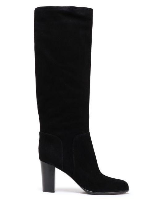 Sergio Rossi Suede Boots Black
