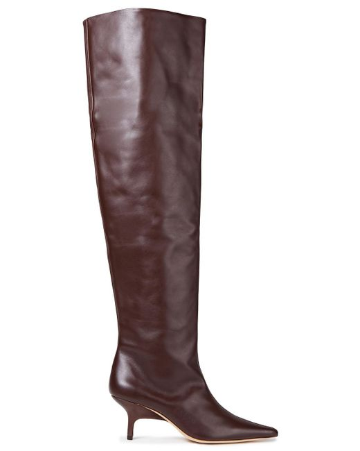 Rejina Pyo Brown Ashley Leather Over-the-knee Boots