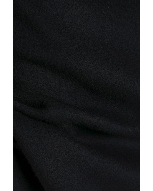 bb658f88af ... Bottega Veneta - Black Brushed-cashmere Skirt - Lyst