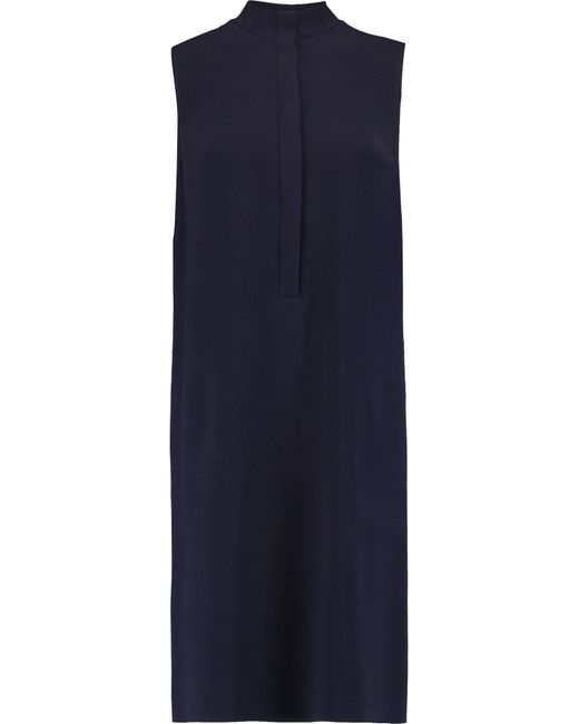 JOSEPH | Blue Gil Crepe Dress | Lyst