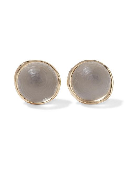 Alexis Bittar | Gray Gold-tone Lucite Earrings | Lyst