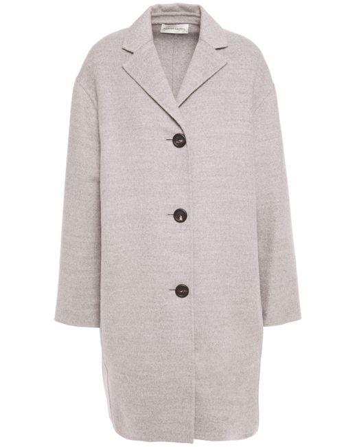 Mansur Gavriel Sur Gavriel Mélange Wool Coat Gray