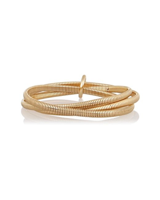 Kenneth Jay Lane | Metallic Gold-plated Bracelet | Lyst