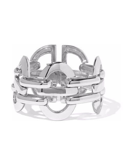 Ben-Amun - Metallic Silver-tone Cuff - Lyst