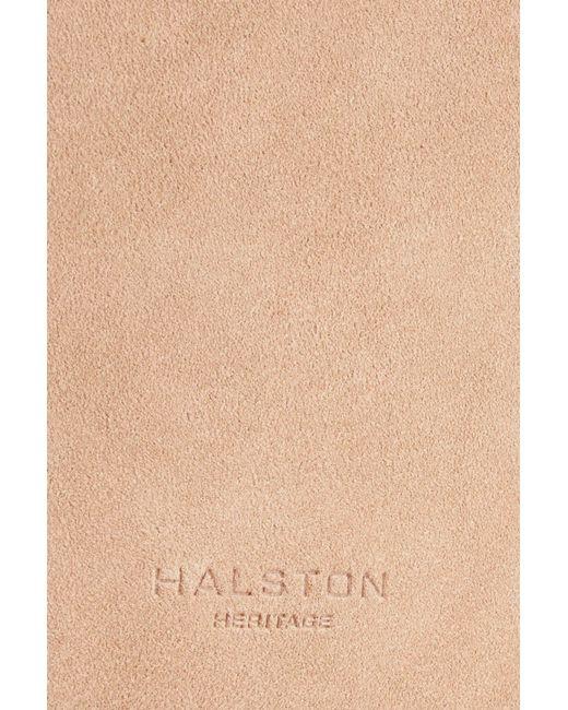 6e7589fdae ... Halston Heritage - Multicolor Woman Alism Suede Bucket Bag Blush - Lyst  ...