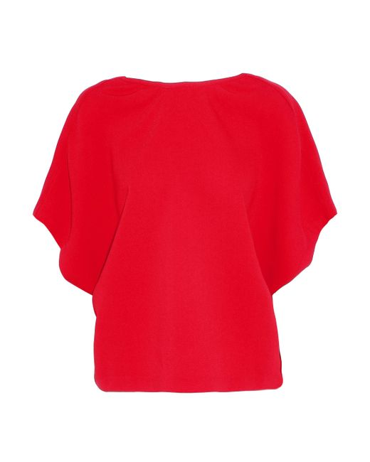 Iro Woman Open-back Lace-up Crepe Blouse Red Size 38 Iro Discount 2018 New Excellent For Sale Clearance How Much Clearance 2018 Popular Online Au0Tw