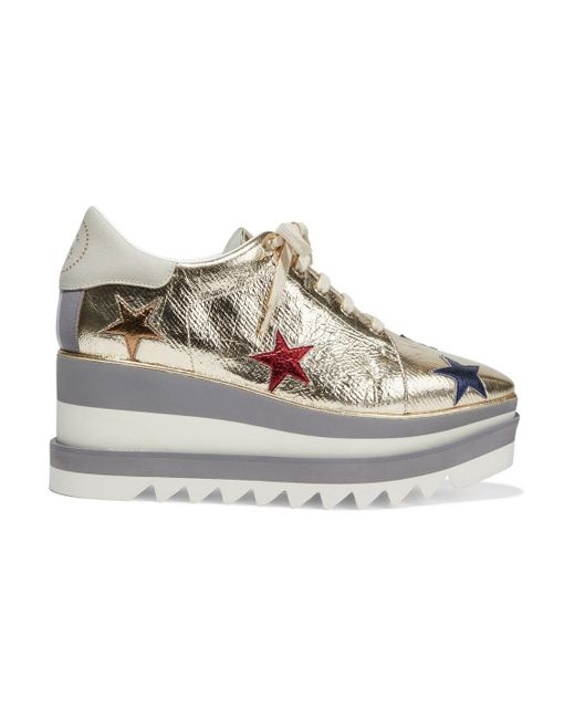 platform trainers stella mccartney