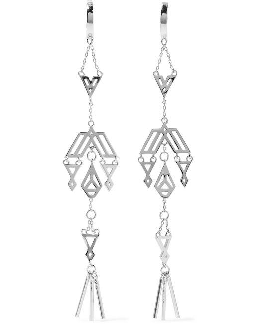 Noir Jewelry | Metallic Zapotec Silver-tone Earrings | Lyst