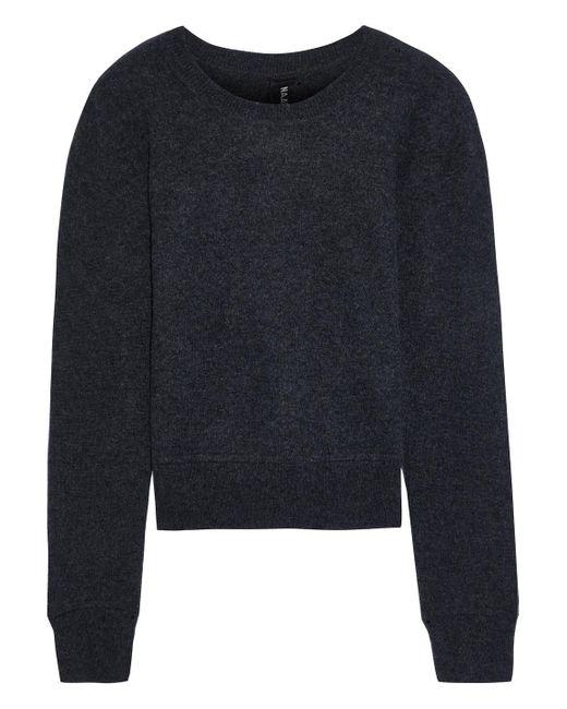 NAADAM Gray Mélange Cashmere Sweater