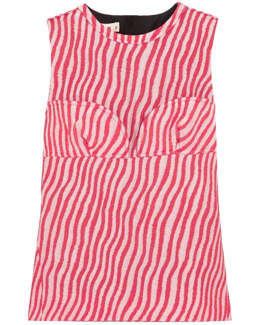 Marni - Red Sleeveless Top - Lyst