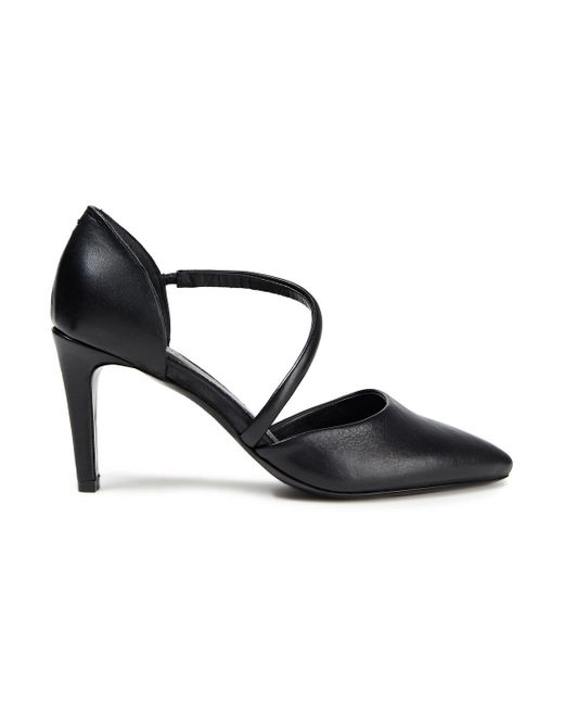 Rodebjer Black Hannah Leather Pumps