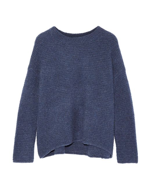 Vince - Blue Wool And Cashmere-blend Sweater - Lyst