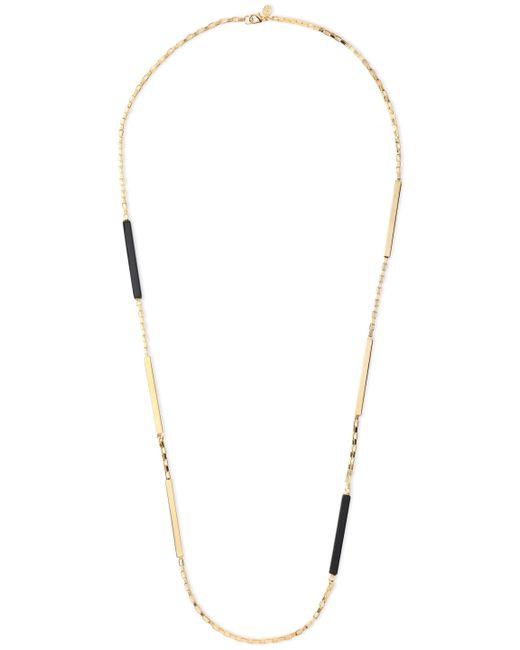 Ben-Amun Metallic 24-karat Gold-plated Resin Necklace Gold