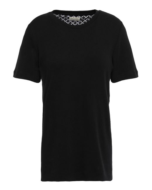 By Malene Birger Cotton-jersey T-shirt Black