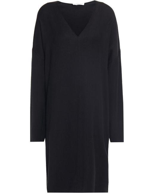 Vince Twill Dress Black