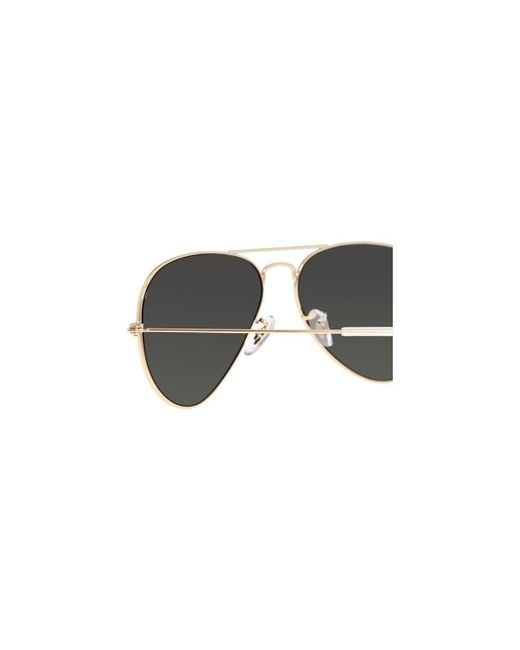 cf05dd810d6 ... Ray-Ban - Aviator Classic Rb3025 001 58 Gold With Green Polarized Lenses  Sunglasses ...