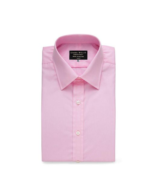 Emma Willis - Pink Superior Cotton Shirt for Men - Lyst